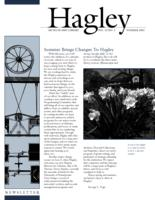 Hagley Newsletter [Summer 2003]