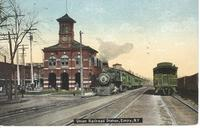 Union Railroad Station in Elmira, N.Y.