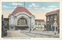 Big Four Railway Station in Springfield, Ohio