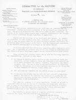 J. H. Rand membership drive letter to constituents, 1933-11-11
