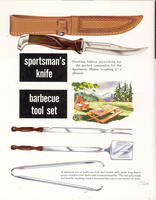 Sportsman's knife barbecue tool set