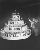 150th Anniversary Cake for Lukens Steel Company