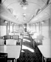 D78B dining car #7957, interior view