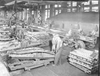 Building freight cars at Altoona Shops, Altoona, Pa.