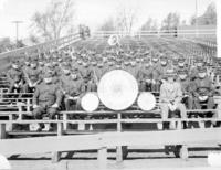 Altoona works band at cricket field