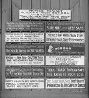 National Railroad Accident Prevention Drive machine shop sign
