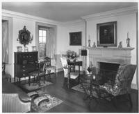 Drawing room in Eleutherian Mills residence