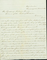 Correspondence, Brig. General H. Lockwood to Gov. Burton, 1861-10-25