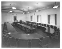 Board room in Chamber of Commerce building