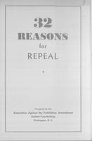32 reasons for repeal
