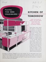 Presenting  the 1955 Frigidaire : Kitchen of Tomorrow