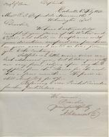 Correspondence, Ashburner and Company to E. I. du Pont de Nemours and Company, 1858-02-06