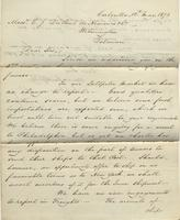 Correspondence, Ashburner and Company to E. I. du Pont de Nemours and Company, 1872-05-10