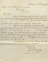 Correspondence, Ashburner and Company to E. I. du Pont de Nemours and Company, 1877-02-16