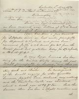 Correspondence, Ashburner and Company to E. I. du Pont de Nemours and Company, 1874-05-01