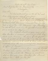 Correspondence, Ashburner and Company to E. I. du Pont de Nemours and Company, 1871-03-29