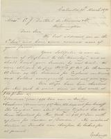 Correspondence, Ashburner and Company to E. I. du Pont de Nemours and Company, 1871-03-15