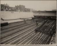 Pennsylvania Station Yard: View of Yard Between Ninth and Tenth Avenues