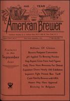 The American Brewer vol. 66, no. 09 (1933)