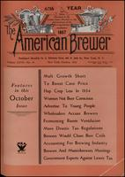 The American Brewer vol. 67, no. 10 (1934)