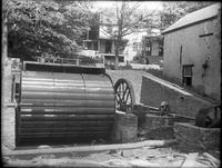 Water Wheel Installation at Marshall Brothers Paper Mill
