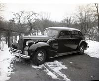 1940 Packard 180, with steam plant installed