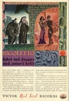 Rigoletto : dukes and daggers and jester's bells