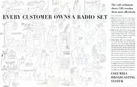 Every customer owns a radio set