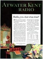 Radio, yes, but what kind?