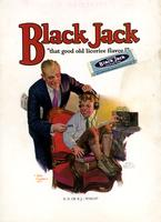 "Black Jack ""that good old licorice flavor!"""