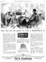 Any one can be proud to own a Radiola 16