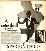 A radio thrill you will never forget