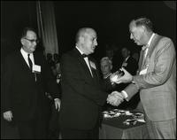 Award of modern pioneers medals, J. Presper Eckert and John Mauchly (1965)