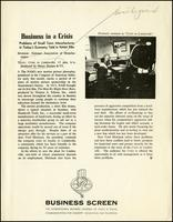 'Crisis in Lindenville' information sheet (ca. 1958)