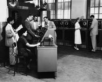Grace Hopper and others with UNIVAC System
