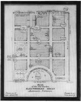 Plan of the Old Garden, Eleutherian Mills, Montchanin, Delaware