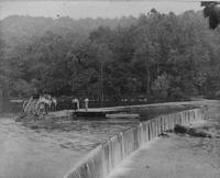 Repairing Hagley Dam on Brandywine Creek