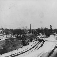 Brandywine Creek after blizzard of 1899 February 13