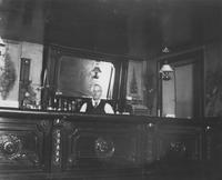 Bartender in saloon, possibly Robinson's saloon in Wilmington, Delaware