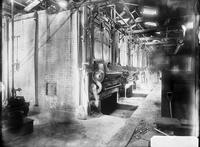 Interior of boiler house, likely at Carney's Point