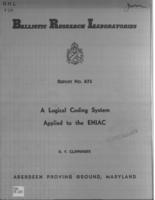 A logical coding system applied to the Eniac