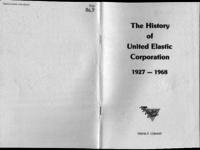 The history of United Elastic Corporation, 1927-1968