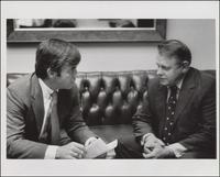 Rep. Jack Kemp with Gene Hardy (September 1978)
