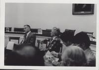 Sandy Trowbridge with Washington Representatives (June 1980)