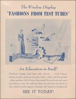 'Fashions from Test Tubes' advertisement (ca. 1941)