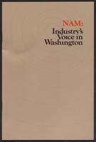 NAM: Industry's Voice in Washington (1983)