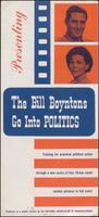 'Bill and Susan Boynton Go to into Politics' brochure (1964)