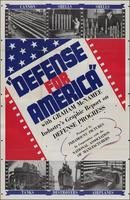 'Defense for America' poster (1939)