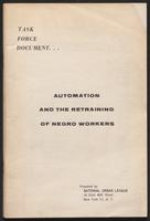 Automation and the Retraining of Negro Workers