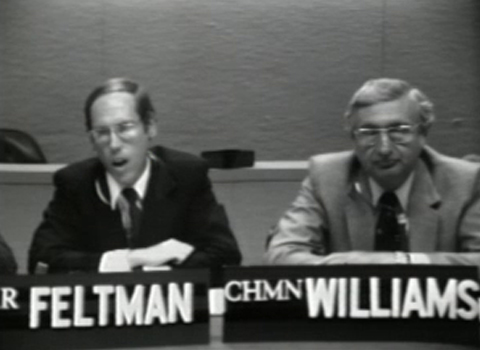 Picturephone with SEC chairman Williams: Tape 01